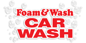 Foam Wash Car Wash Logo